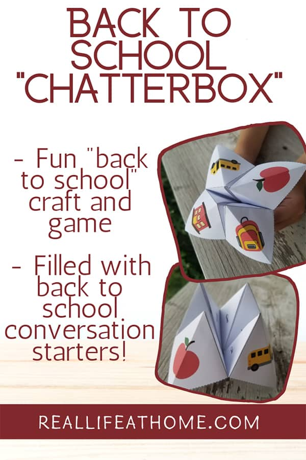 photo regarding Printable Cootie Catcher named Cost-free Printable Back again towards College Fortune Teller or Cootie Catcher