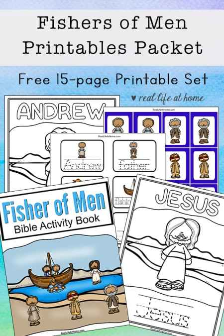 Fisher of Men Printables Packet for Kids