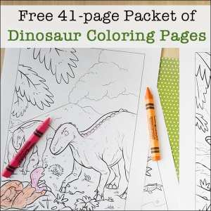 free printable dinosaur coloring pages packet for kids 41 pages. Black Bedroom Furniture Sets. Home Design Ideas
