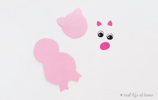 How to Make a Farm Animal Stick Puppet