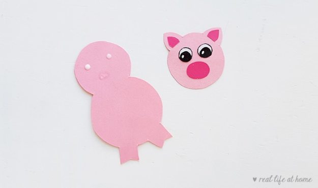 How to Make a Pig Stick Puppet