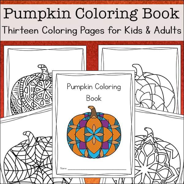- Pumpkin Coloring Pages (Free Printable Pumpkin Coloring Book)