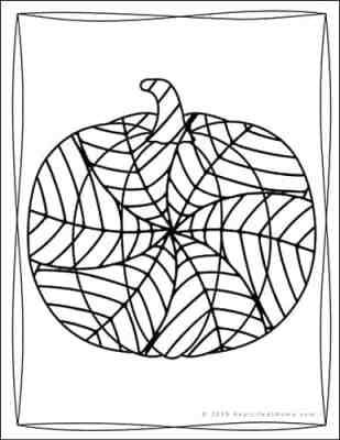 Pumpkin Coloring Pages (Free Printable Pumpkin Coloring Book)