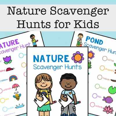 Free Nature Scavenger Hunts for Kids