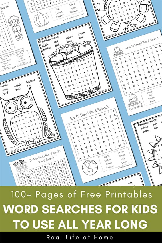 It's just an image of 100 Word Word Search Printable pertaining to 4th grade summer