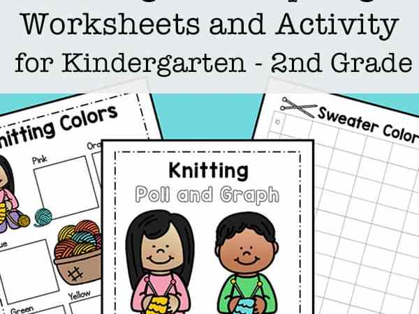 Free Printable Polling and Graphing Worksheets for Kindergarten – 2nd Grade
