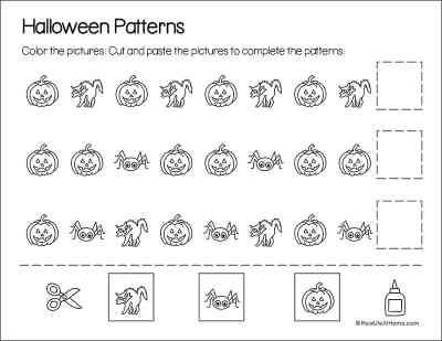 Halloween Patterns Printable