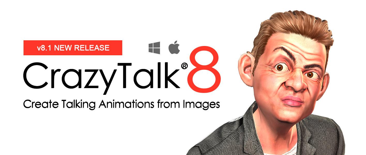 CrazyTalk 8 Pipeline 8.13 Mac 破解版 强大的面部动画制作工具-麦氪派(WaitsUn.com | 爱情守望者)