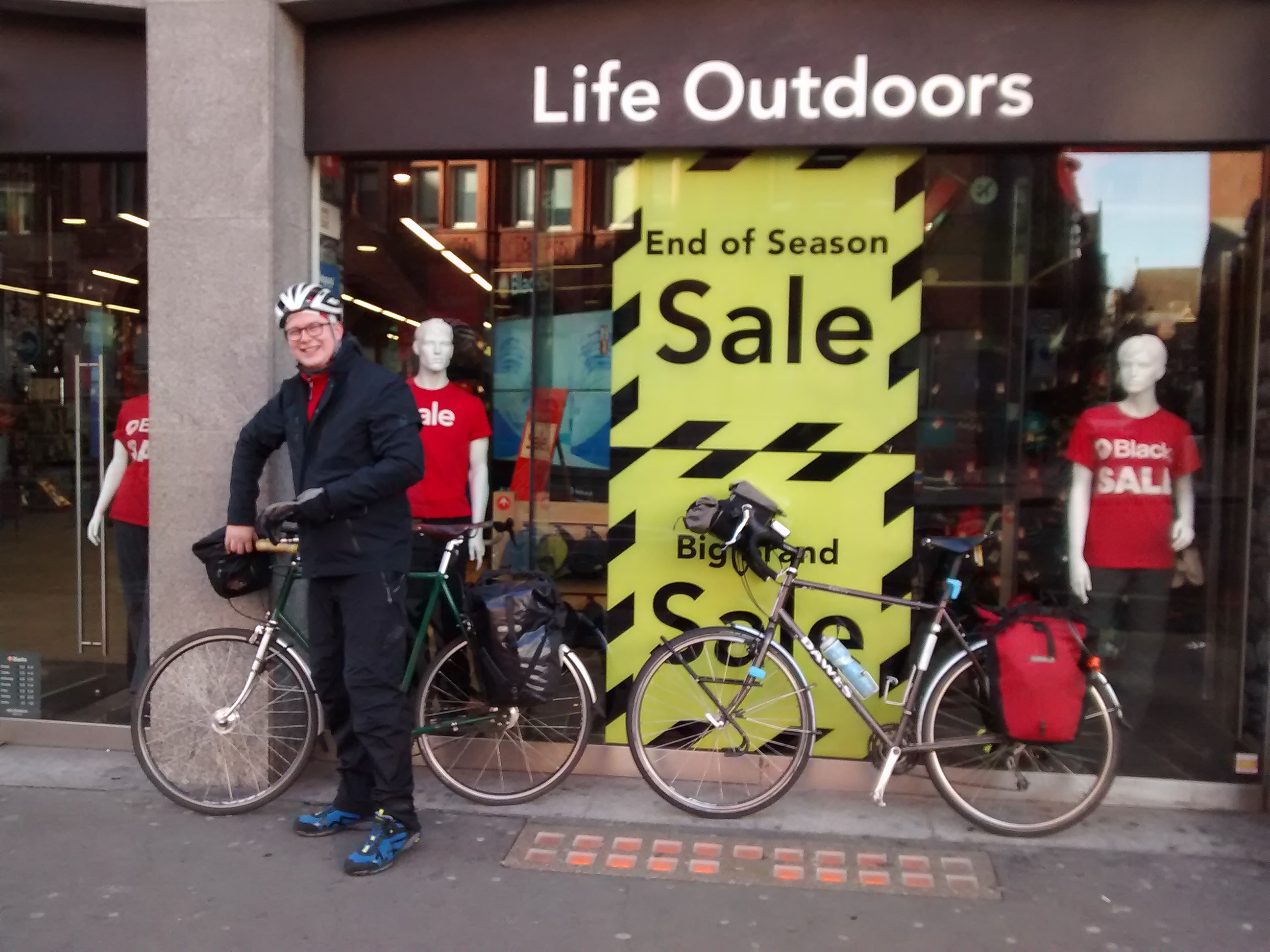 Microadventure 1 London To Chichester By Bike Really Big Bike Ride