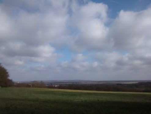 View from the top - One Tree Hill, Basildon, Essex