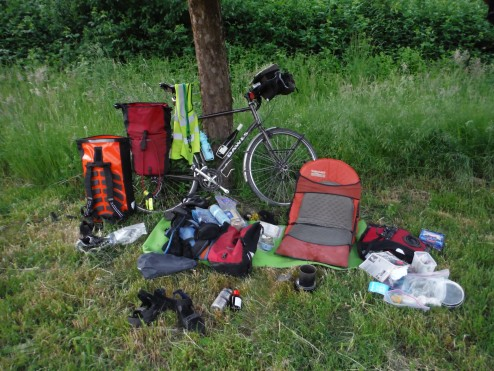 Wild camping - essential gear