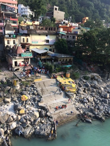 Mother Ganga; the Ganges is the most holy river in India
