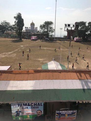 Nahan; the military school play football