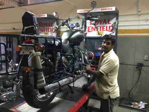 all india motorcycle tour on royal enfield thunderbird