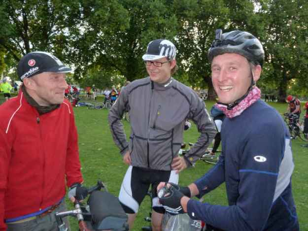 Mash Up and District Cycle Touring Club at London Fields