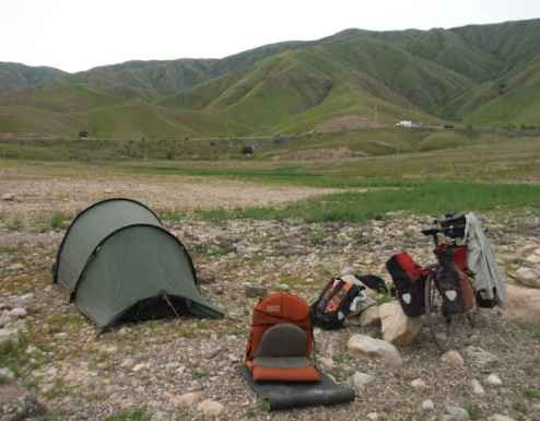 This cycle touring kit list is perfect for high altitude riding