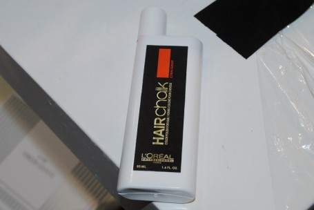 l oreal professional hair chalk photos and swatches from london fashion week really ree