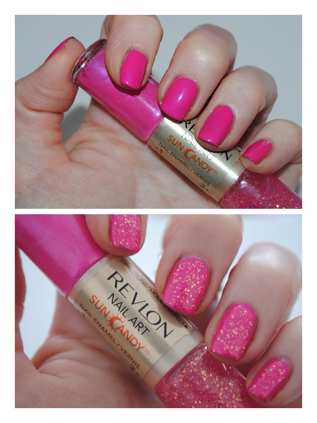 Revlon Nail Art Sun Candy Shimmering Sunset Swatch