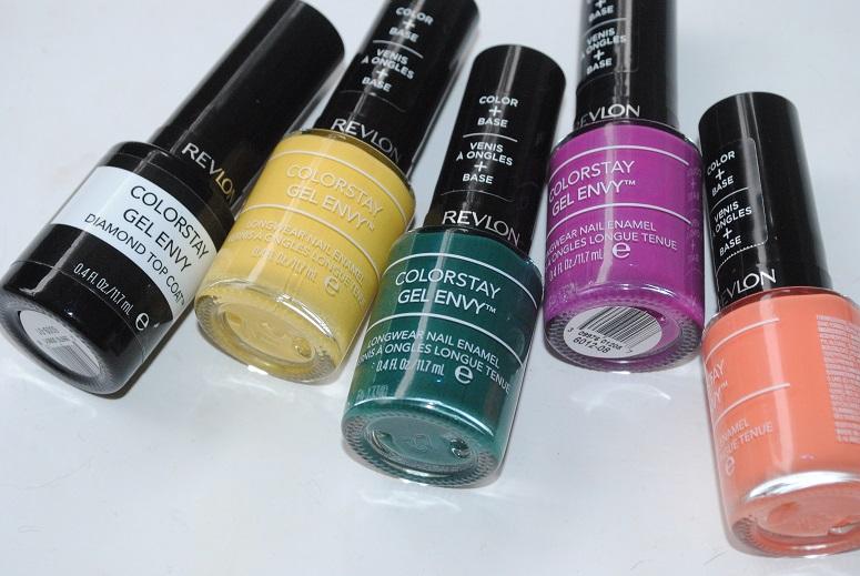 Revlon ColorStay Gel Envy Longwear Nail Enamel Review, Swatch ...