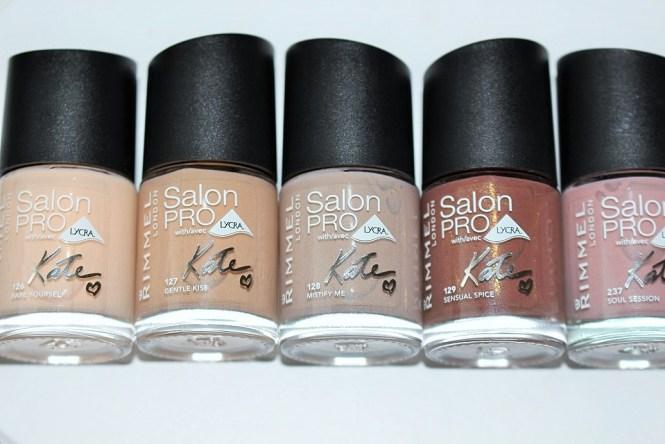 Rimmel Salon Pro Nail Polish With Lycra Kate Choose Your Color