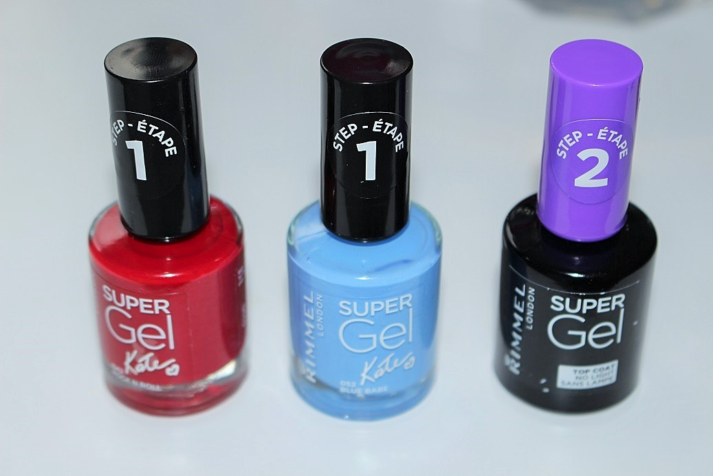 Rimmel Super Gel Nail Polish Review Swatches