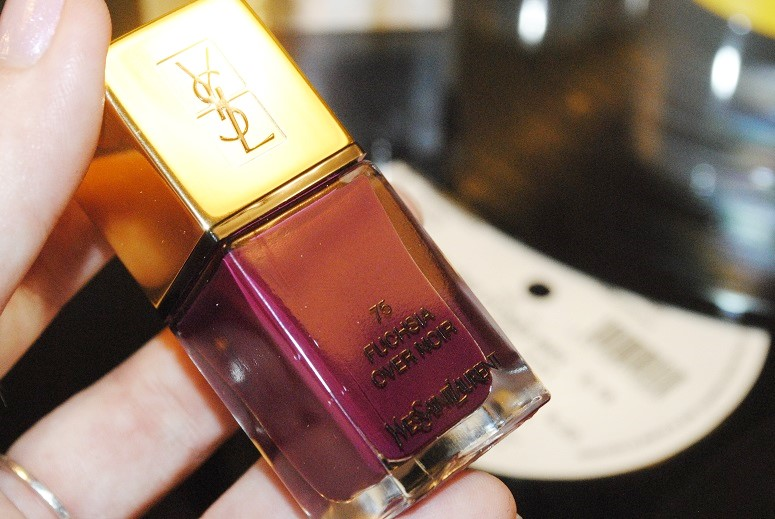 YSL La Laque Couture Over Noir Nail Collection Swatches