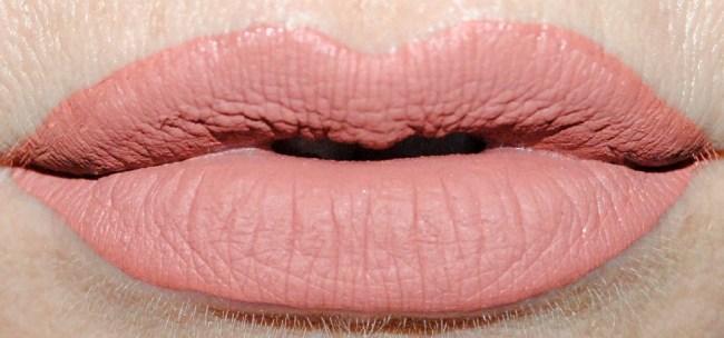 Barry M Matte Me Up Liquid Lip Paints Swatches - Minimalist