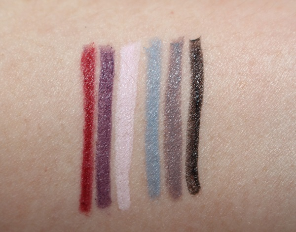Marc Jacobs Beauty Spring 2019 Fineliner Swatches
