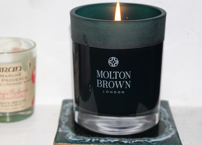 Molton Brown Russian Leather Candle