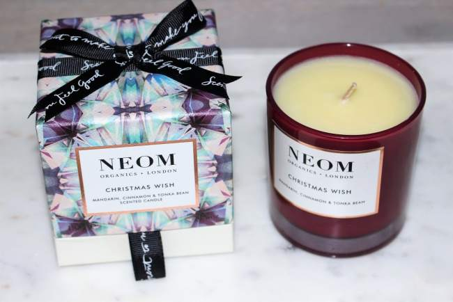 Best Christmas Candles 2018 - Neom