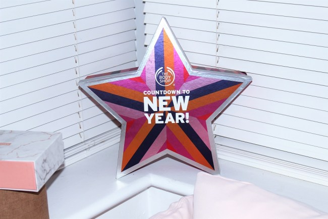 The Body Shop Countdown to New Year
