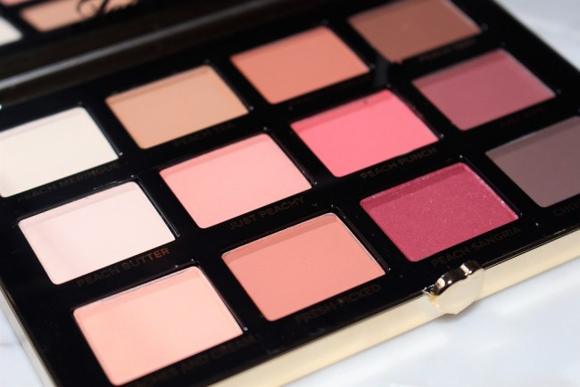 Too Faced Just Peachy Mattes Eyeshadow Palette - Peaches & Cream Collection
