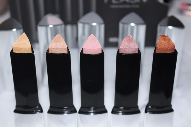 Hourglass Vanish Flash Highlighting Stick - Gold Flash, Champagne Flash, Pink Flash, Rose Gold Flash, Bronze Flash