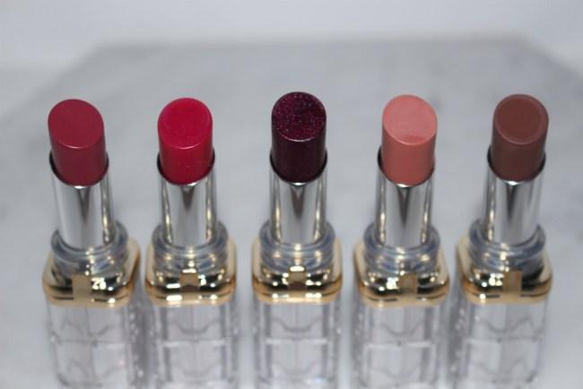 Loreal Paris Color Riche Shine Lipstick 2018 Review Swatches