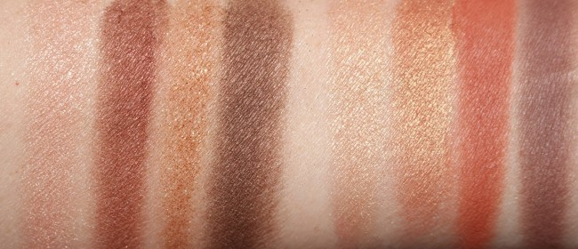 Charlotte Tilbury Dolce Vita Transform-Eyes Comparison Swatches