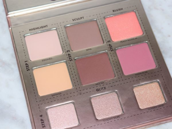 Makeup Forever Glitzy Palette Review Swatches