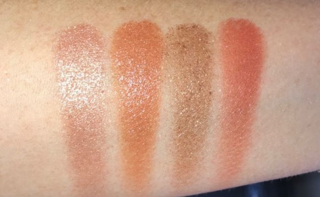 Charlotte Tilbury Palette of Pops - Supersonic Girl Swatches