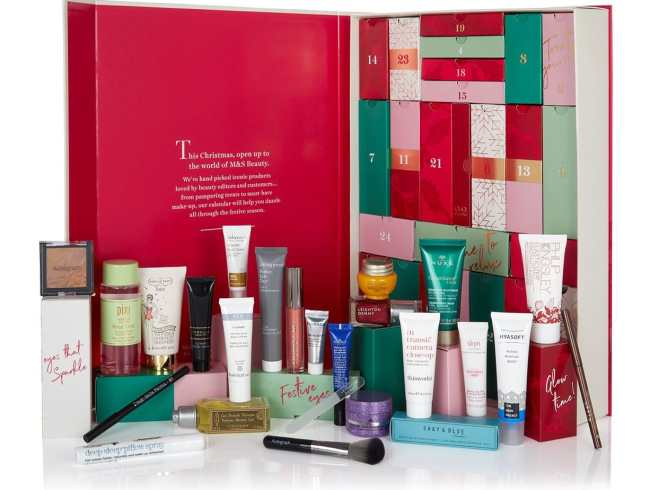 M&S Beauty Advent Calendar 2018
