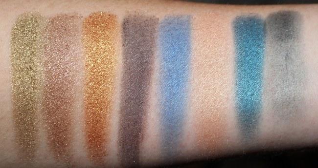 Estee Lauder Violette La Dangereuse Eye Palette - Blue Dahlia Swatches