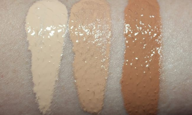 Filorga Flash Nude Fluid Swatches