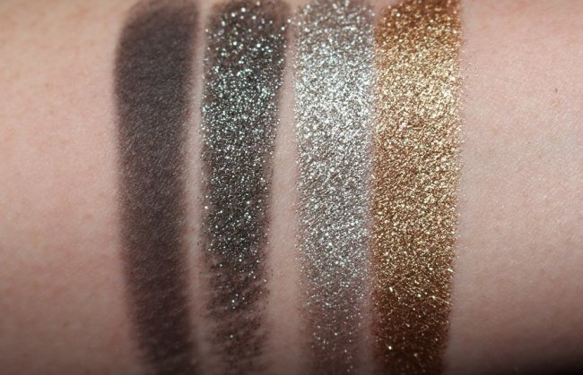 Lancome Christmas 2018 Eyeshadow Palette Swatches