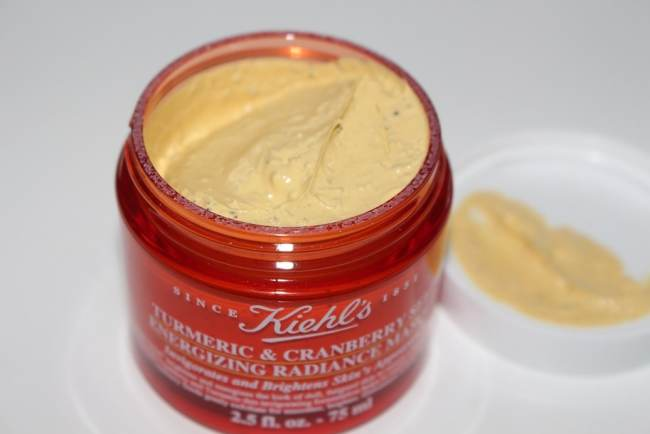 Kiehl's Black Friday 2018 - Turmeric & Cramberry Masque