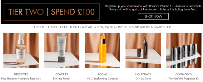 Space NK Black Friday 2018