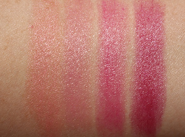 Givenchy Le Rose Perfecto 3 in 1 Couture Balm Swatches