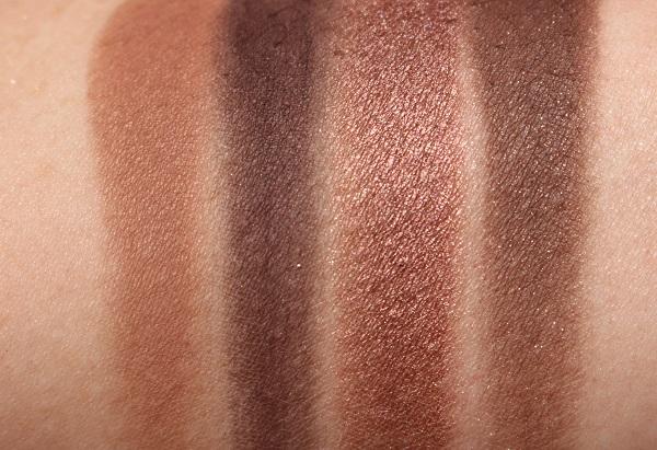 MAC Electric Wonder Eyeshadow Palette Natural Vice Swatches