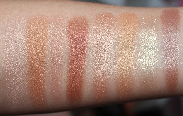 Charlotte Tilbury Dreamgasm vs Legendary Muse Swatches