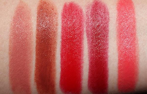 Guerlain Rouge G Matte Lipstick Swatches