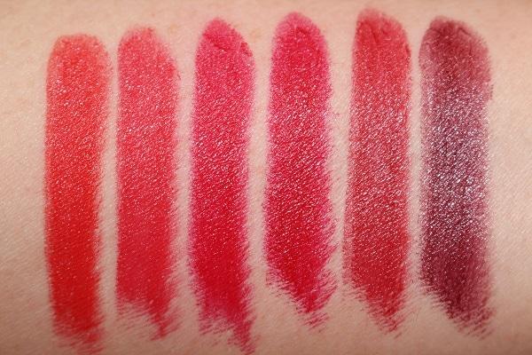 Kilian Le Rouge Parfum Lipstick - Satin Swatches