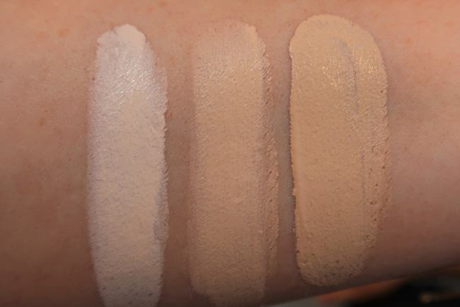 Charlotte Tilbury Airbrush Flawless Foundation Swatches