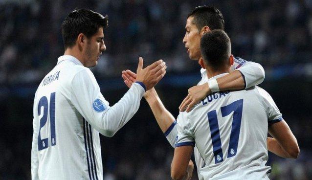 Alvaro Morata, Cristiano si Lucas